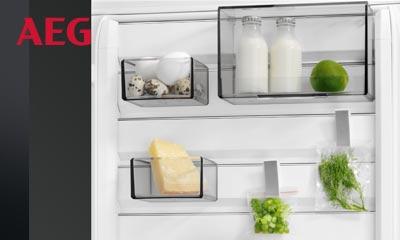 Aeg Kühlschrank Händler : Aeg kühlschrank mit customflex küchen kaufen bad schwartau