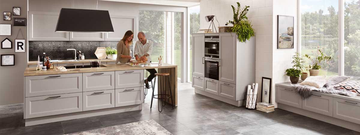Moderner Landhausstil - Küchen kaufen Bad Schwartau ...