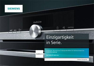 Siemens Kühlschrank Abstand Zur Wand : Siemens die neue studioline reihe im blacksteel design küchen